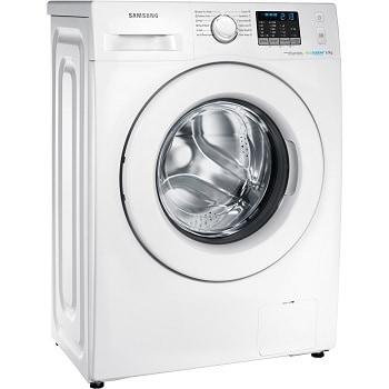 Masina de spalat rufe Slim Samsung Eco Bubble WF60F4E0W2W, 1200 RPM, 6 kg, Clasa A++, Alb