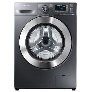 Masina de spalat rufe SLIM Samsung WF60F4E5W2X, 1200 RPM, 6 kg, Clasa A++, Inox