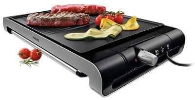 Gratar electric Philips HD4417, 2000 W, 30 x 30 cm
