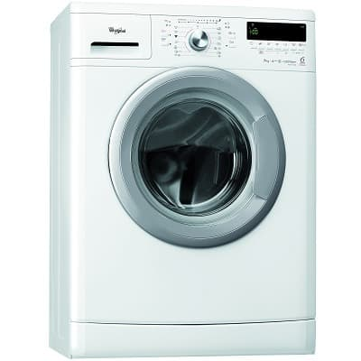 Masina de spalat rufe Whirlpool AWS 71200, 6th Sense Colours, Slim, 7 Kg, 1200 RPM, Clasa A+++