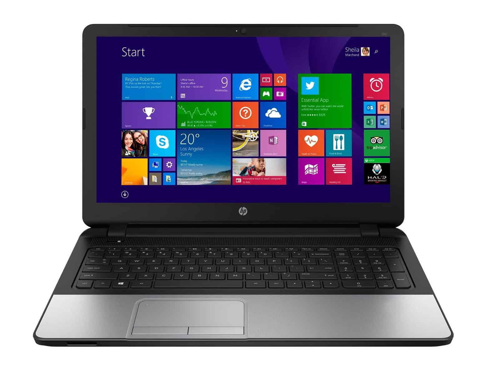 HP 350 G2 - Laptop util si ergonomic!