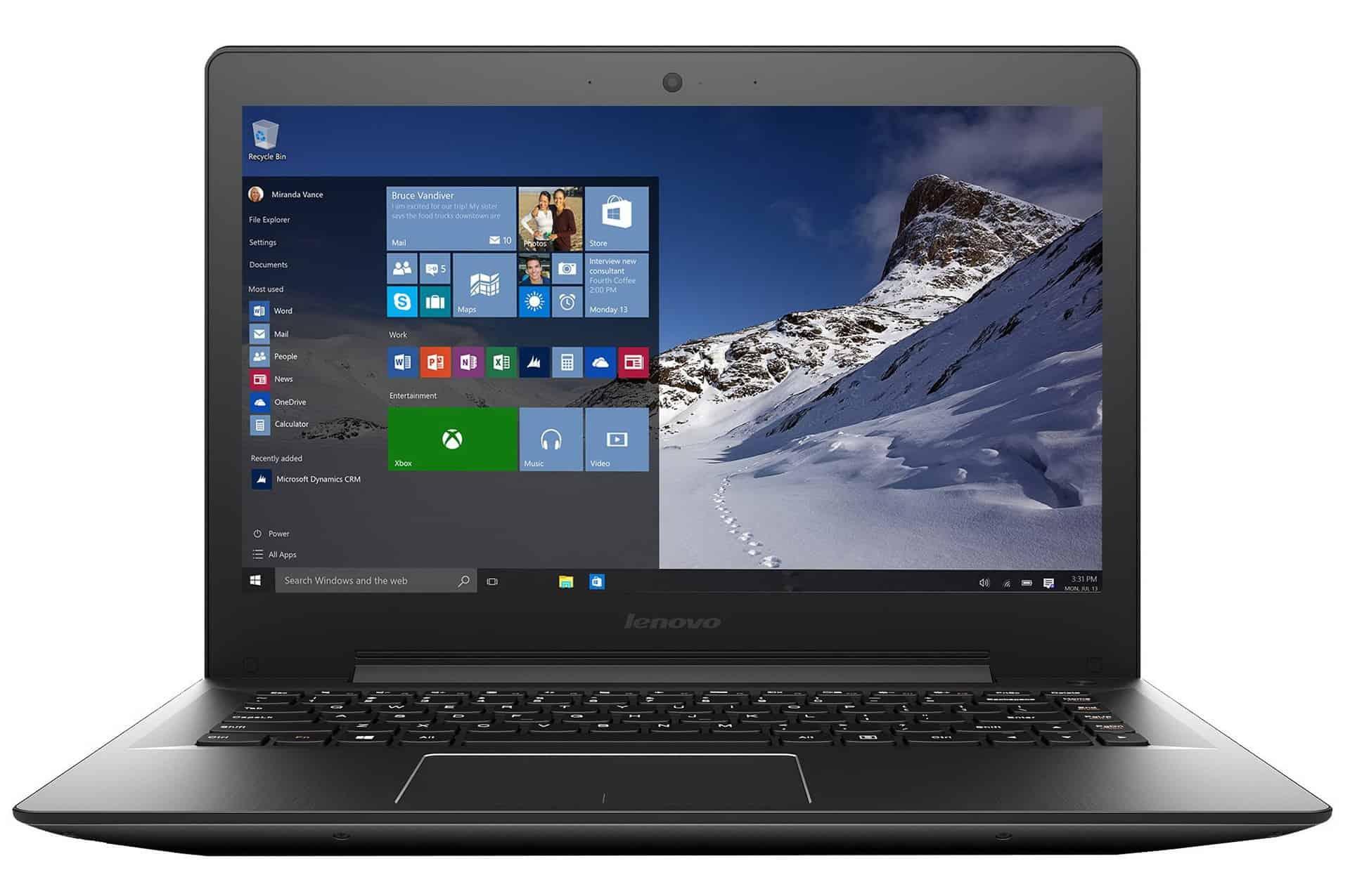 Lenovo IdeaPad U41-70 - laptop de 14 inch bun la toate!