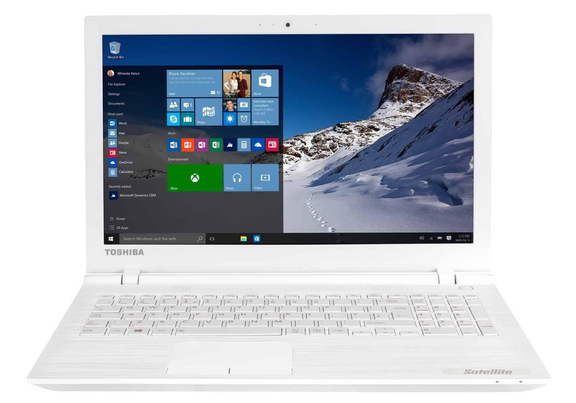 Toshiba Satellite C55-C-18N - laptop bun cu Windows 10!