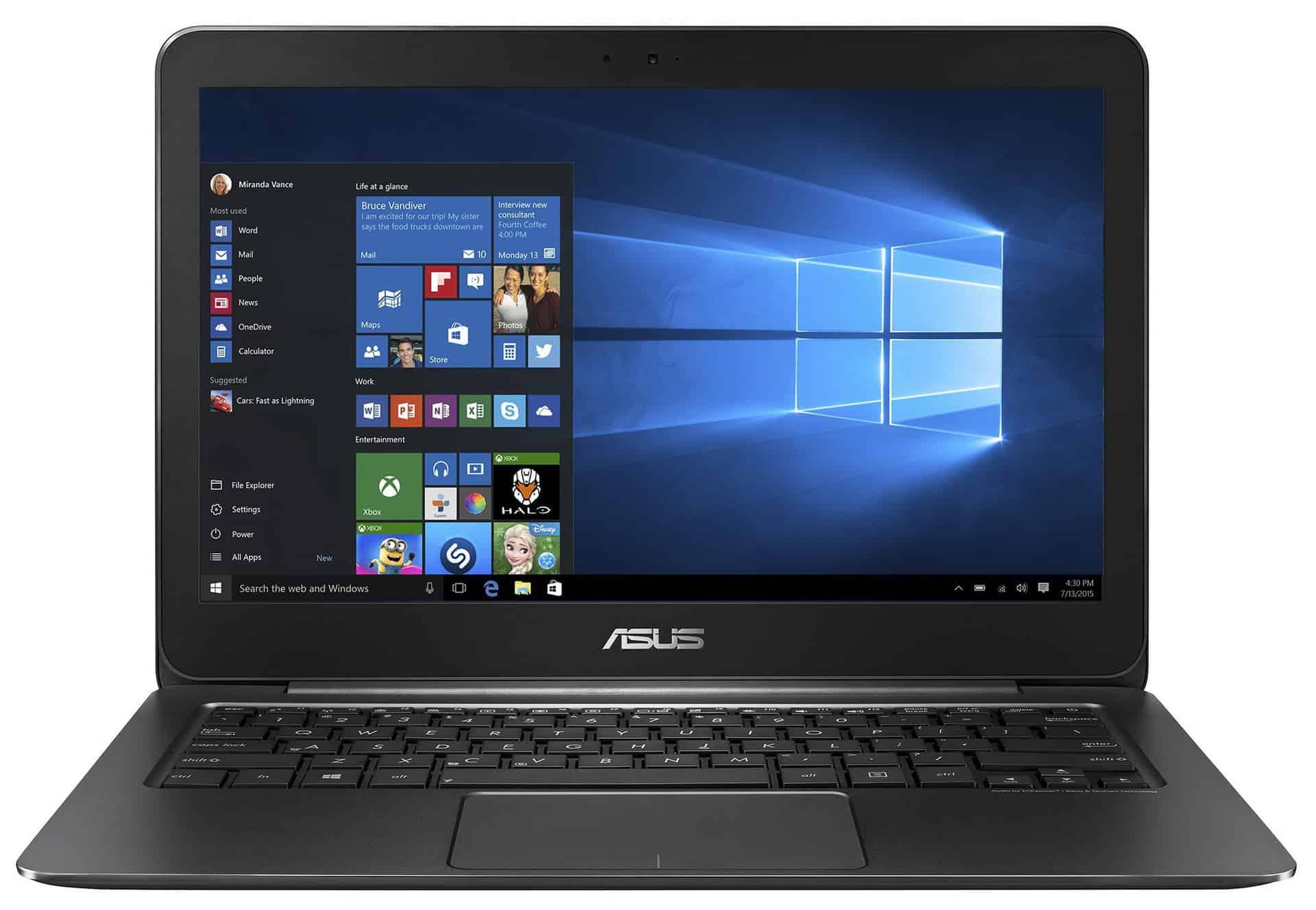 ASUS ZenBook UX305CA-FC004T - laptop elegant de 13,3 inch cu Windows 10!
