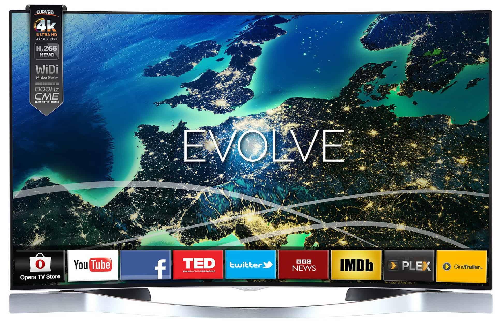 Horizon 55HL950U - televizor curbat Smart 4K UHD cu diagonala de 138 cm!