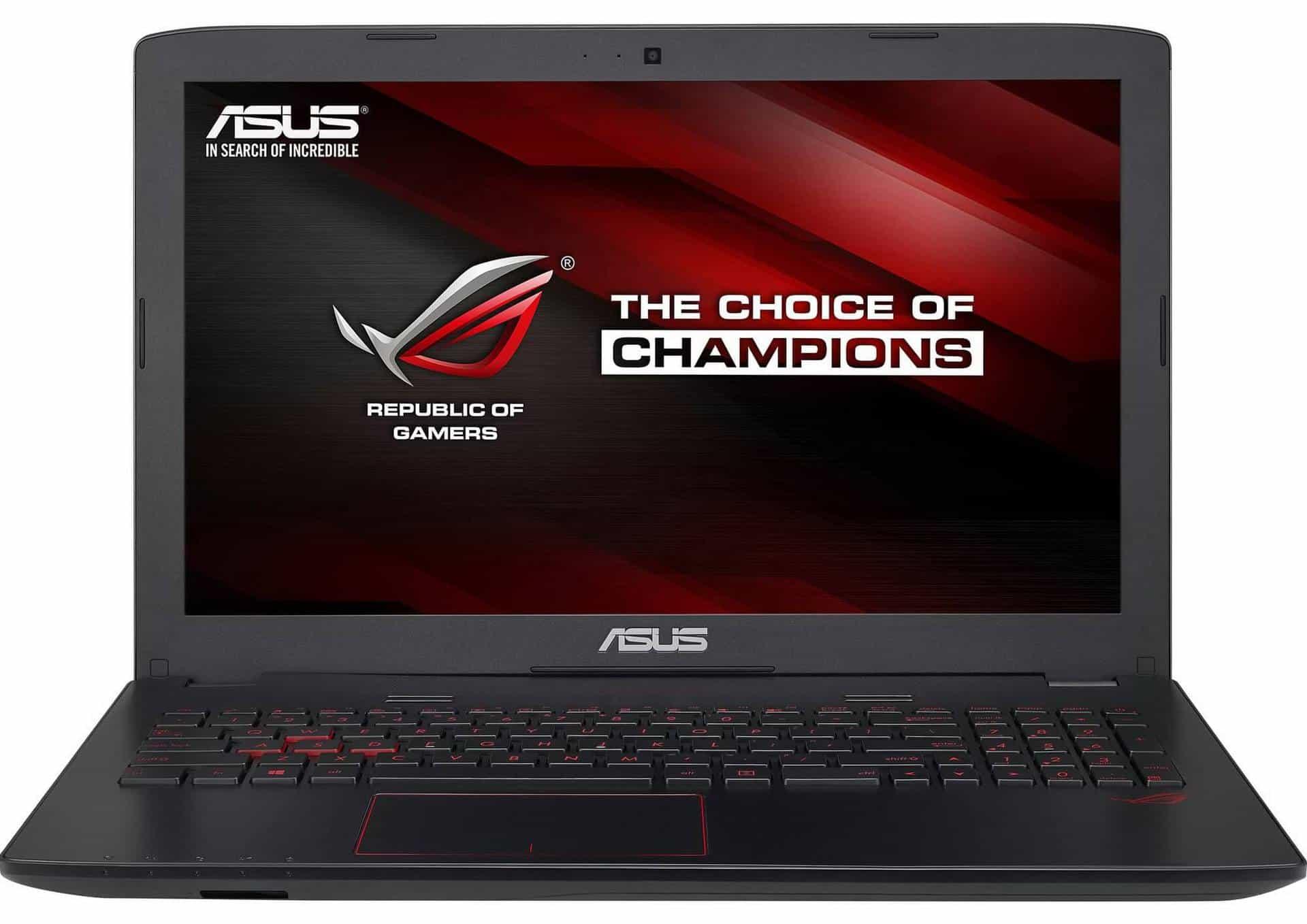ASUS ROG GL552VW-CN091D - laptop de 15,6 inch pentru gaming fara limite!