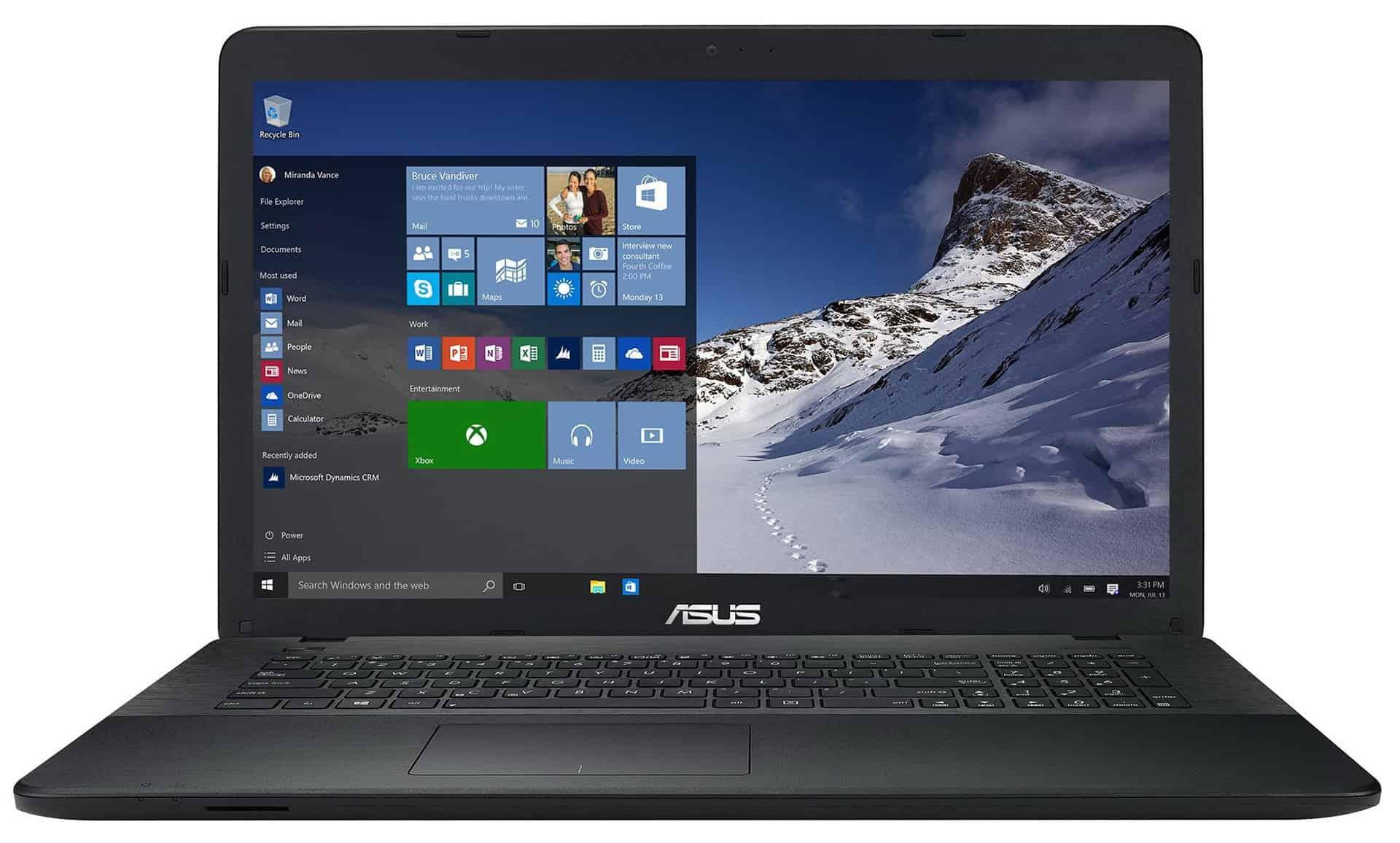 ASUS X751LB-TY151T - laptop elegant de 17,3 inch cu performanta mare!