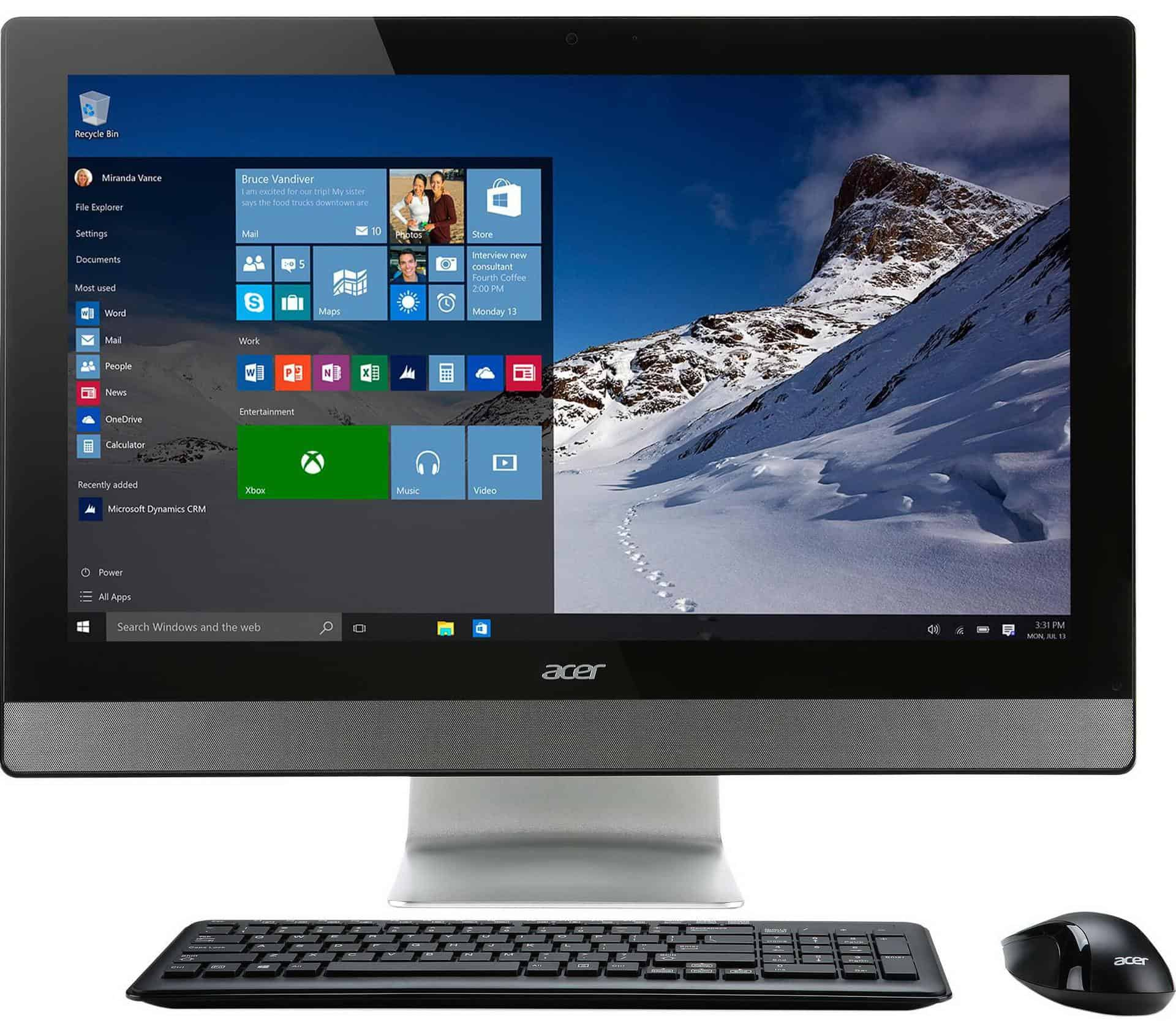 Acer Aspire Z3-615 - sistem PC All-In-One de 23 inch cu Windows 10!