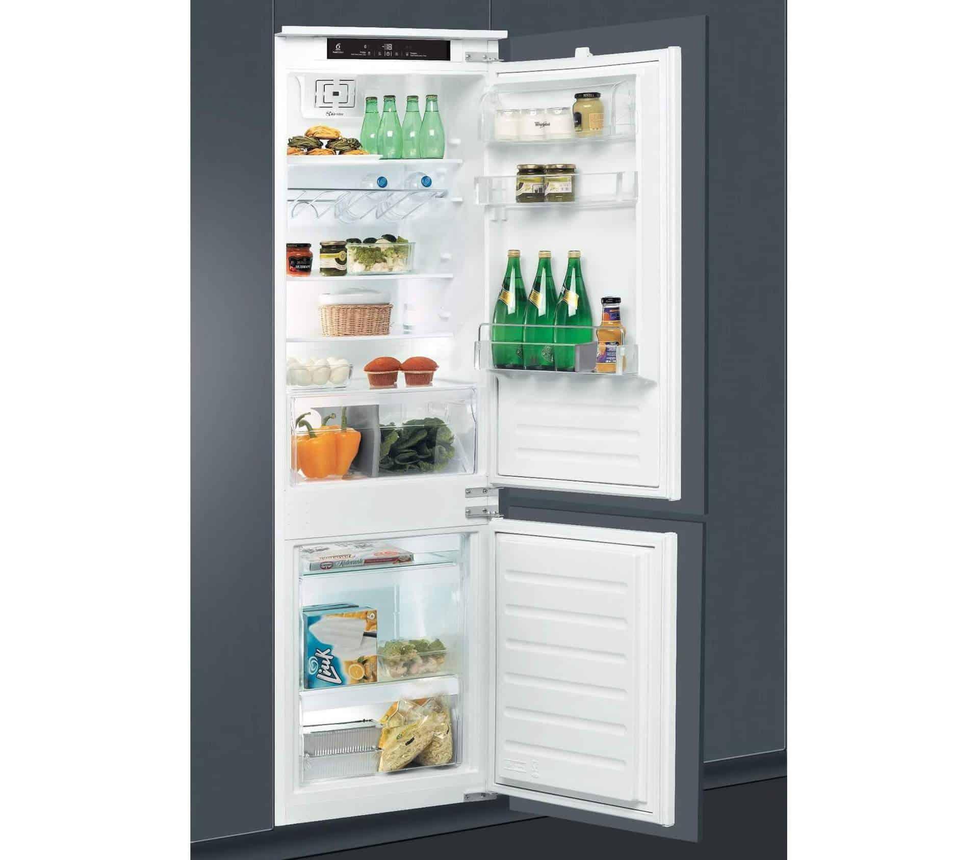 Whirlpool ART 7811 - combina frigorifica incorporabila cu tehnologie Al 6-lea Simt!
