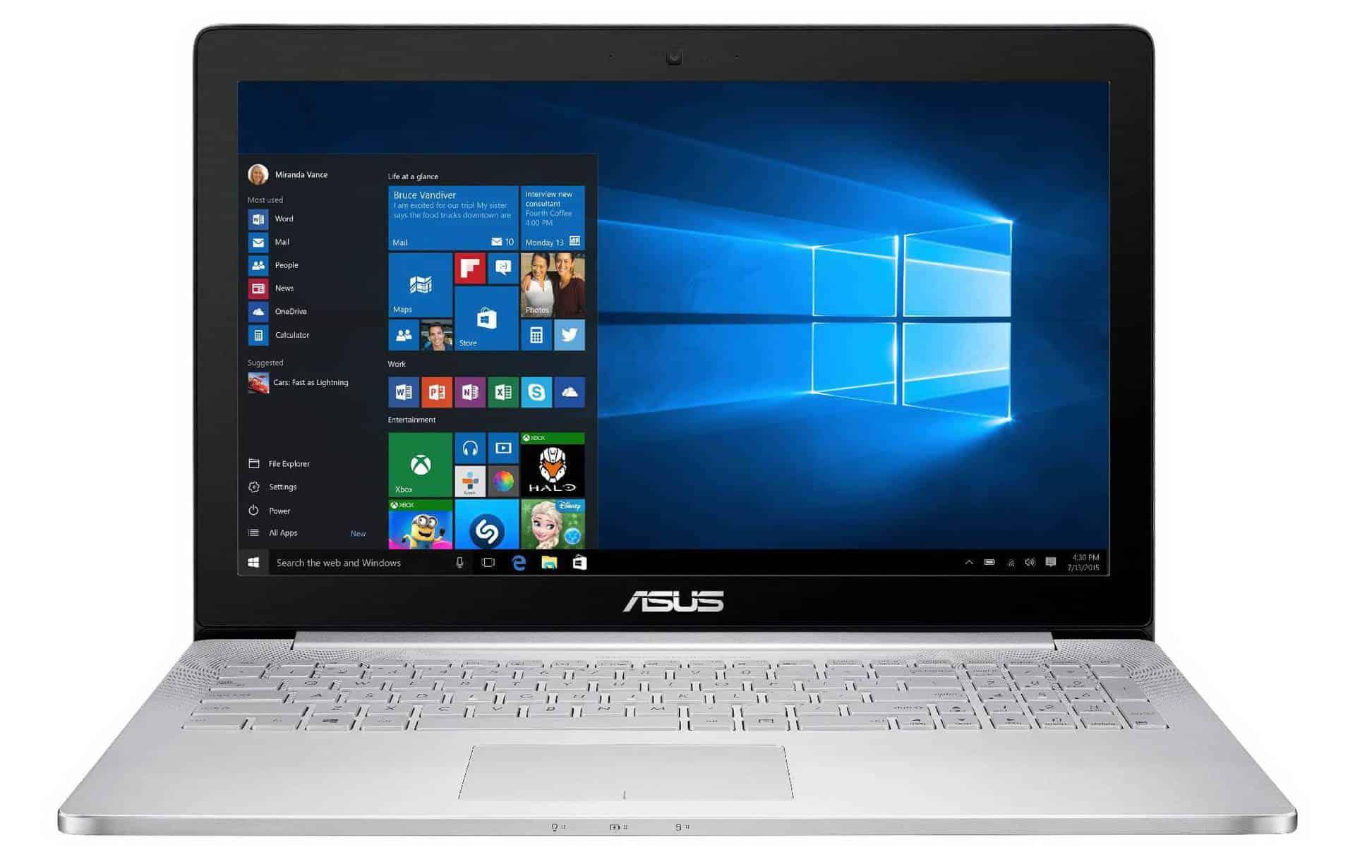 ASUS UX501VW-FJ003T - laptop cu display tactil UHD IPS si performanta de top!