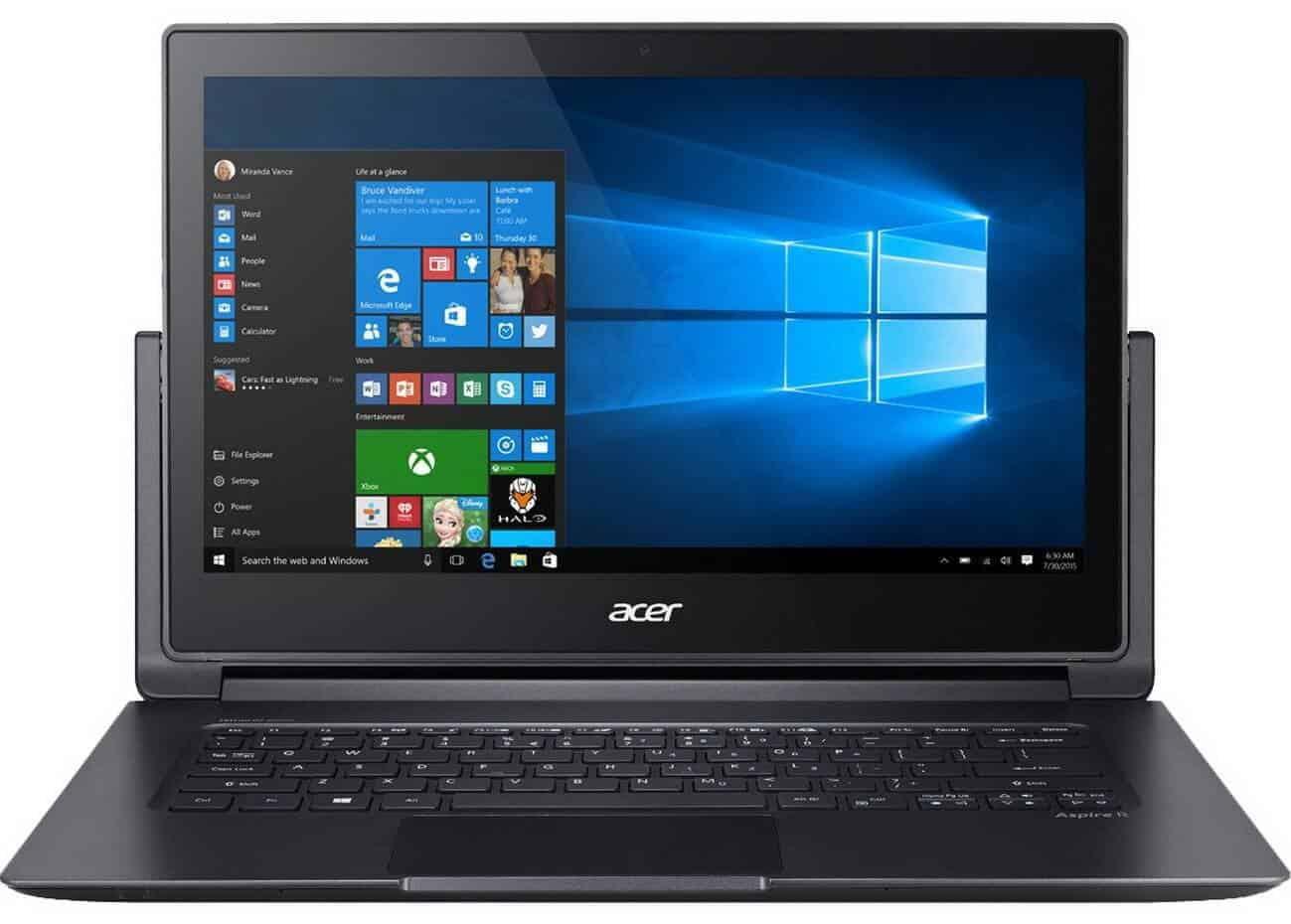 Acer Aspire R7-372T-743X - laptop 2 in 1 cu un display incredibil si performanta buna!