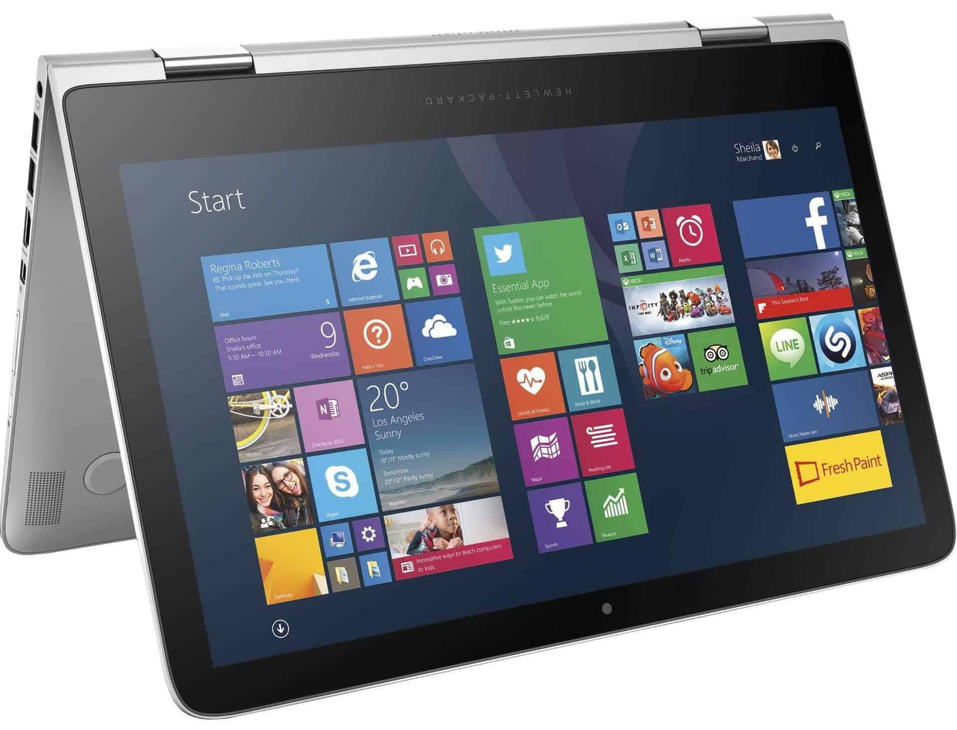 HP Spectre x360 - laptop 2 in 1 de 13,3 inch pentru acasa sau la birou!