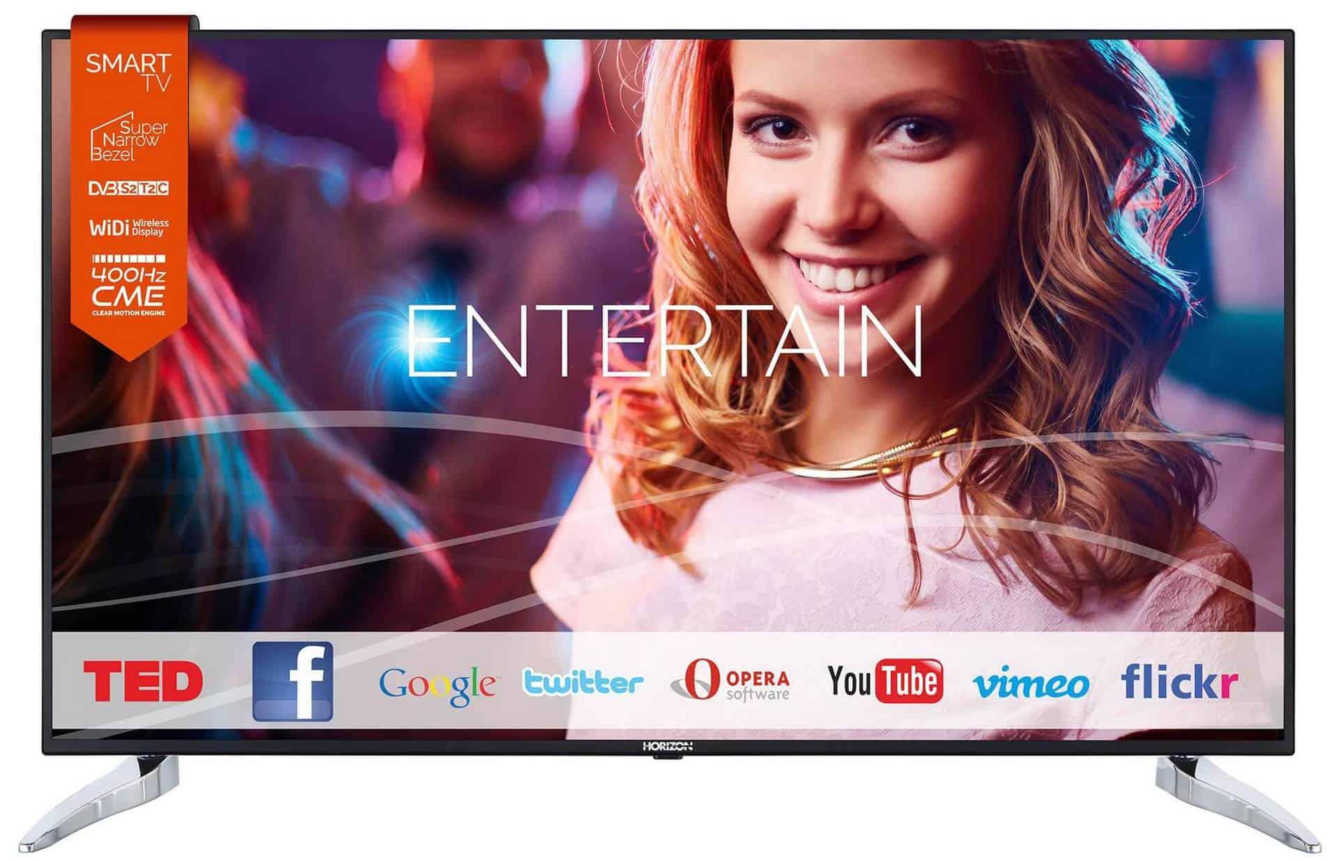 Horizon 55HL810F - televizor Smart LED cu diagonala de 139 cm la rezolutie Full HD!