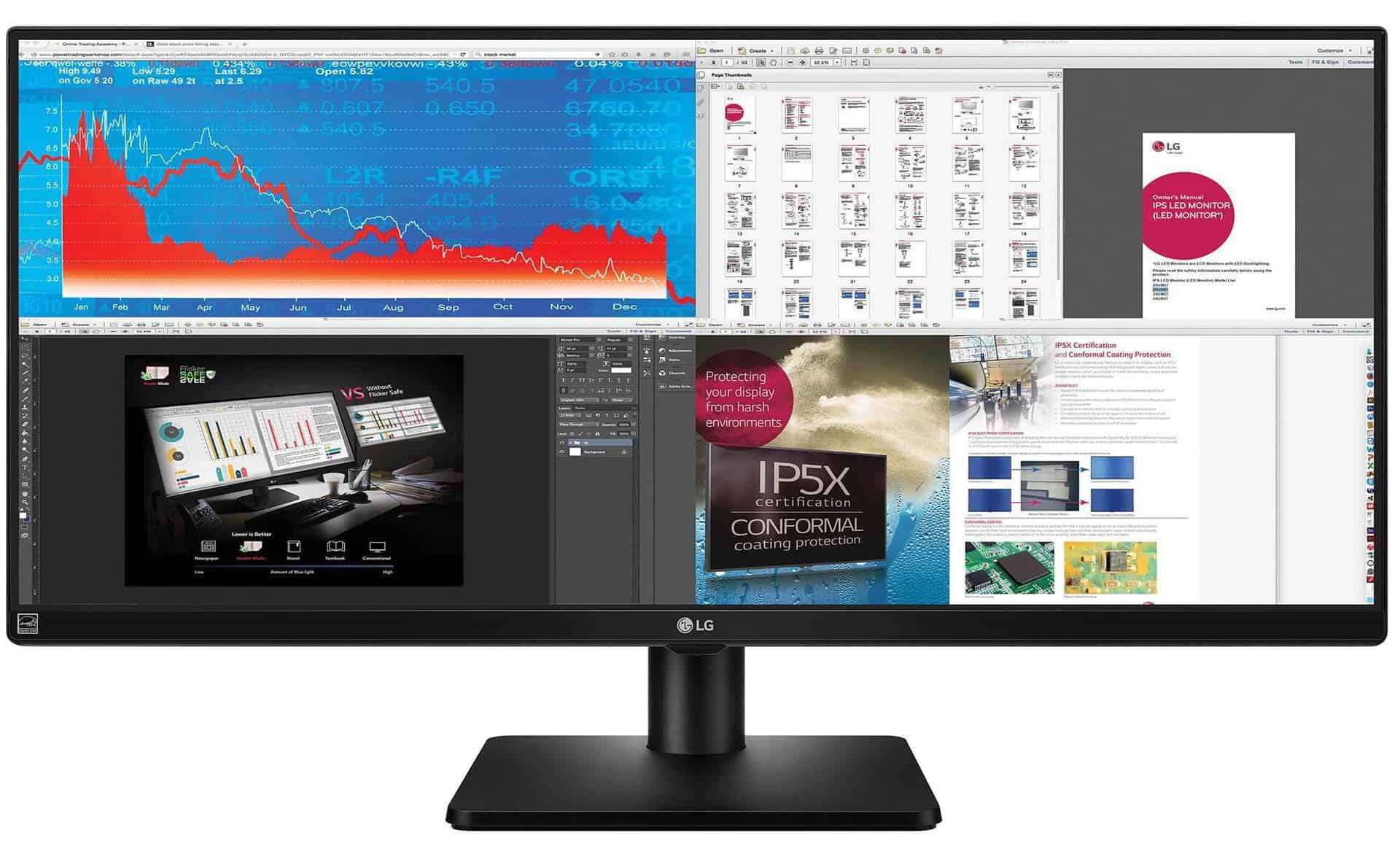 LG 34UB67-B - monitor Ultra Wide LED IPS de 34 inch pentru multitasking!