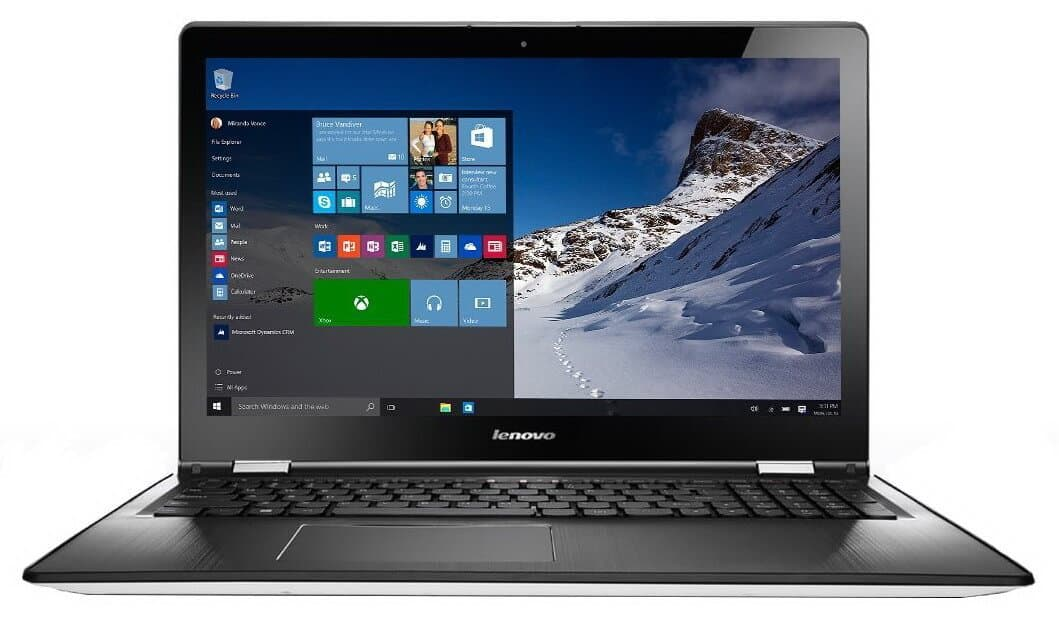 Lenovo IdeaPad Yoga 500-14ISK - laptop 2 in 1 cu diagonala de 14 inch si Windows 10!