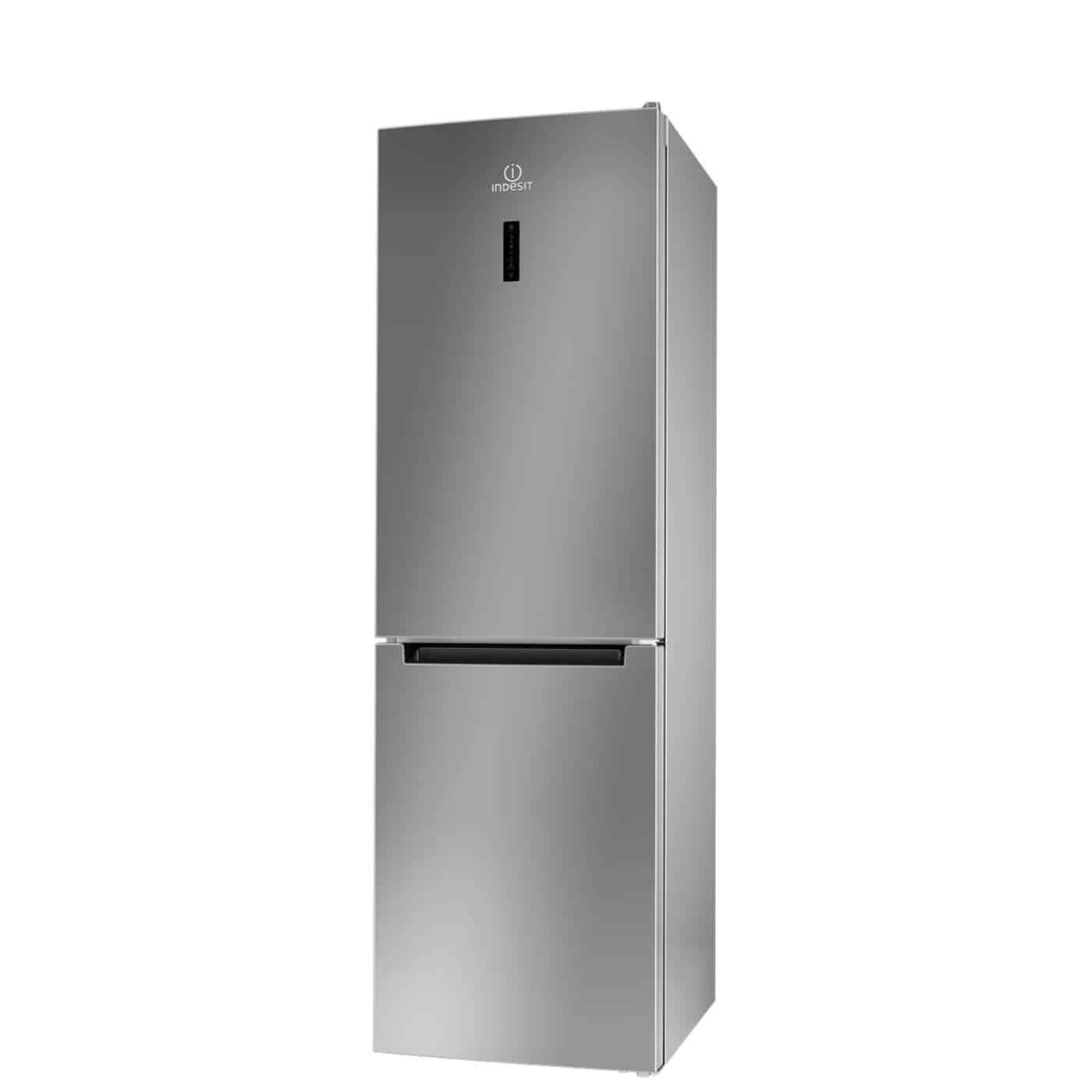 Combina frigorifica Indesit LI8 FF20 SB, 305 l, Clasa A++, H 189 cm, Silver