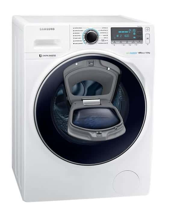 Samsung Eco Bubble WW90K7615OW/LE - technologie de la producatorul Corean
