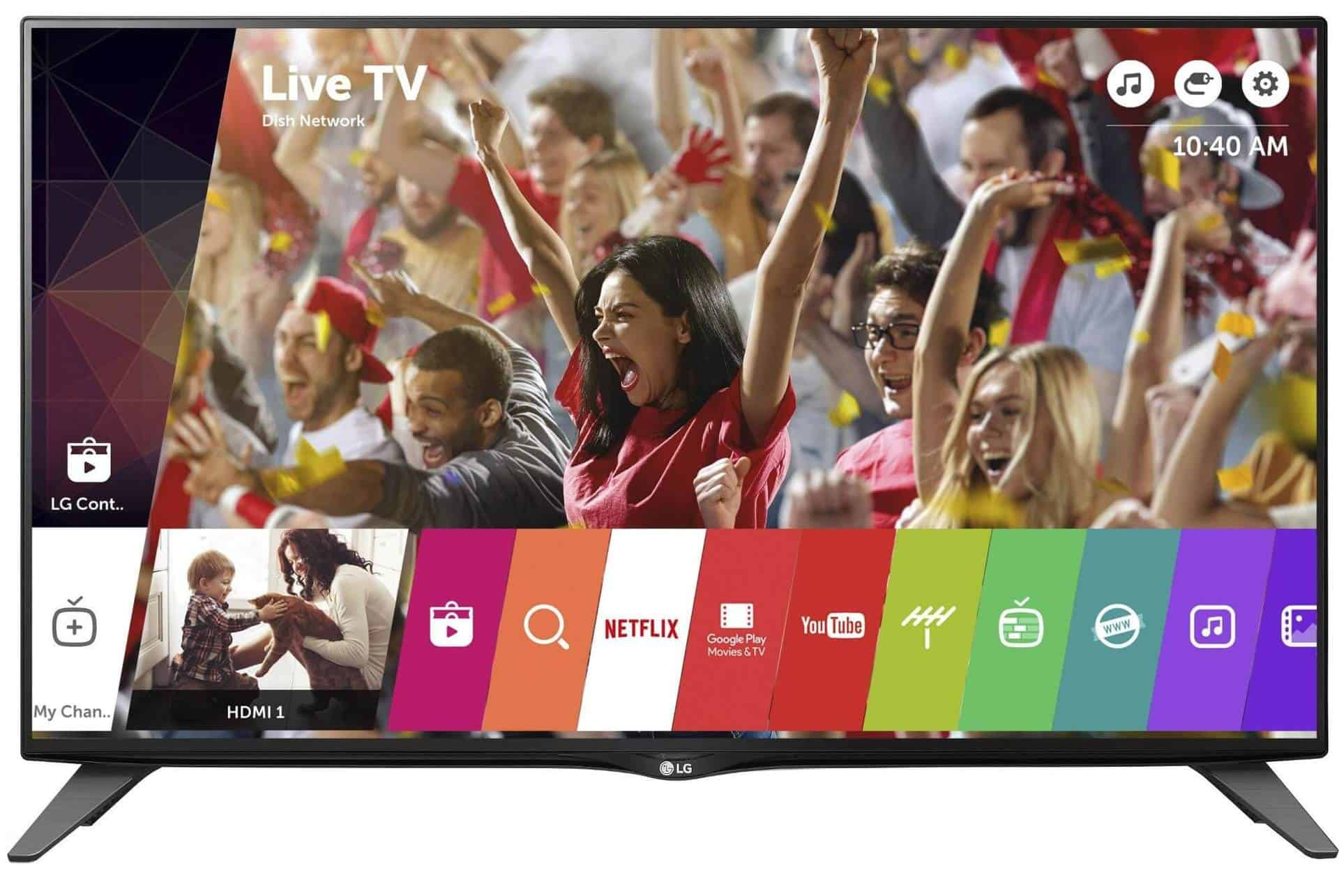 LG 40UH630V - televizor Ultra HD 4K cu pret accesibil