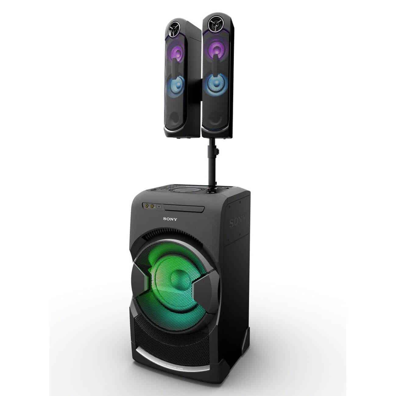 Sistem audio Sony MHCGT4D - putere si claritate