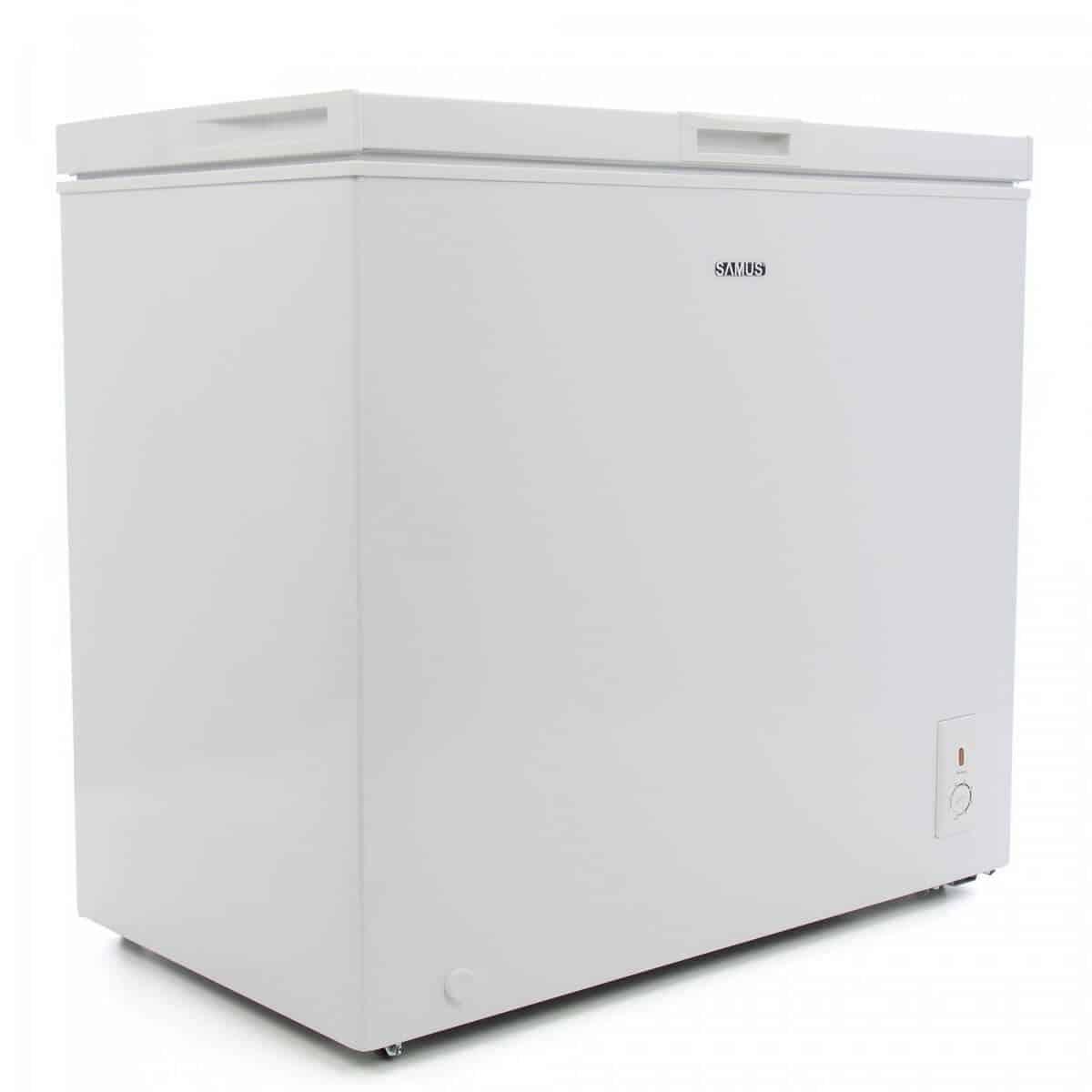 Lada frigorifica Samus LS220A+, Clasa A+, 200 litri, Alb