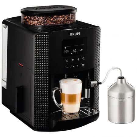 Espressor automat Krups Espresseria Automatic EA8160 - creat cu recipient pentru lapte